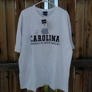 NWT North Carolina Tar Heels Embroided Shirt